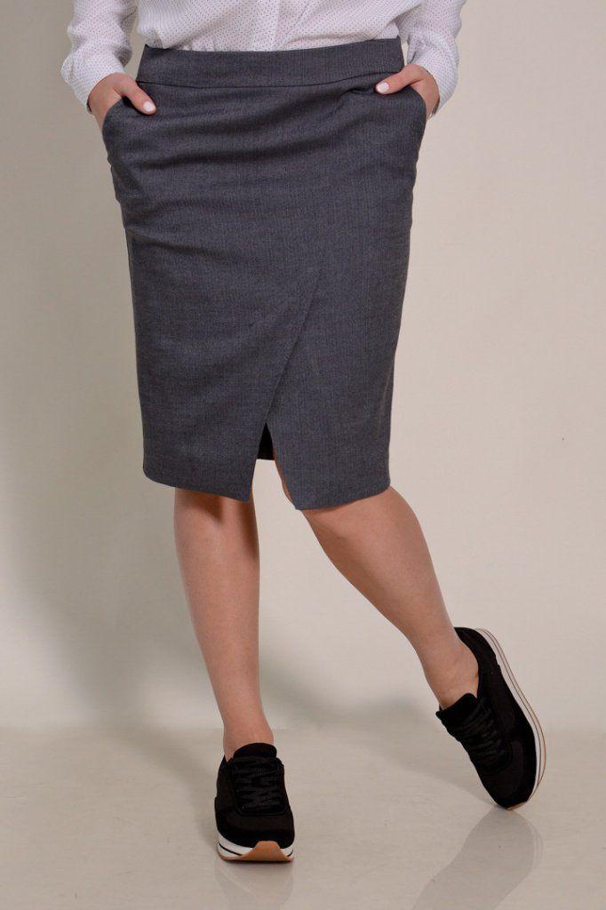 Юбка из простых брюк