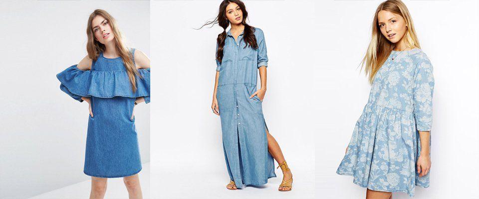 Платья из джинсовой ткани своими руками 83